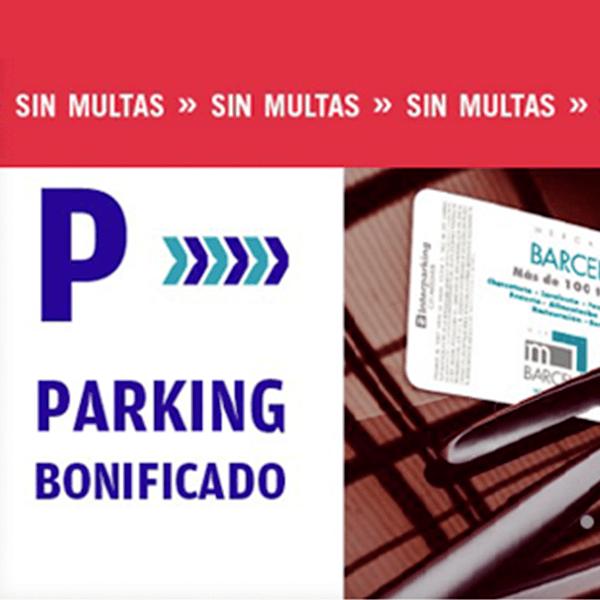 PARKING BONIFICADO