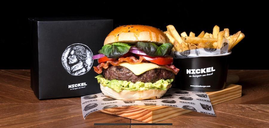 nickel burger hamburguesa menu